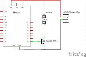 Wiring Schematic for Motor Control