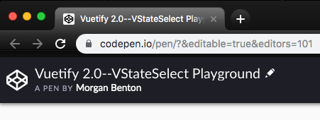 screenshot showing how to rename a pen on CodePen
