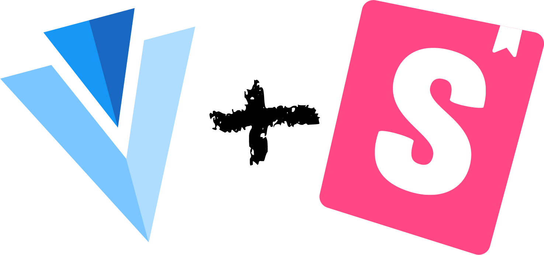 Vuetify Logo and Storybook Logo